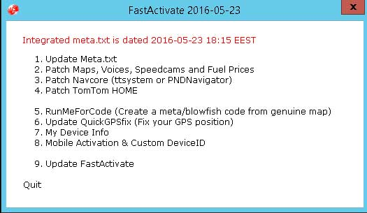 tomtom fastactivate free